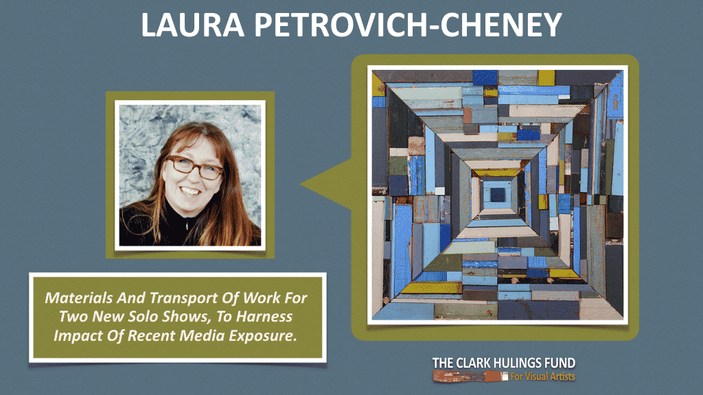 Laura Petrovich-Cheney - 2015 Grant Recipient