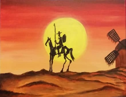 Don Quixote by Renee Gannon