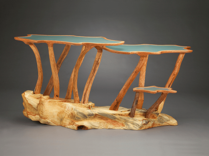Aaron Laux - Squash Blossom Table