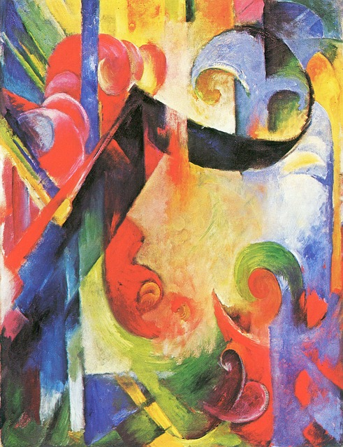 Franz Marc - Abstract