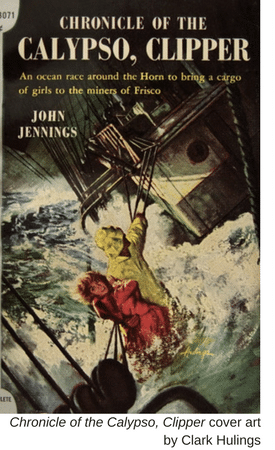 Chronicle of the Calypso, Clipper cover art by Clark Hulings