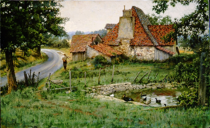 Ancient French Farmhouse