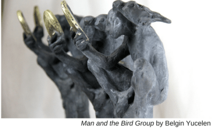 Man and the Bird Group by Belgin Yucelen