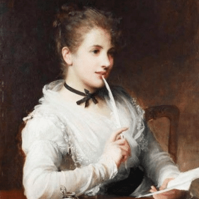 The Love Letter by Samuel Fildes