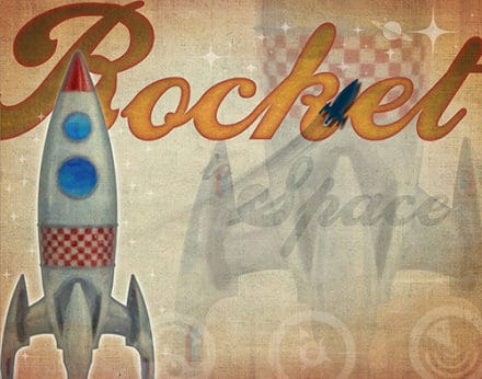 Rocket To Space Laurent Newman