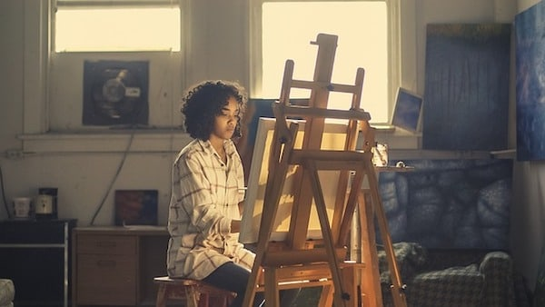 Artist, Painter, Easel, Canvas, Art