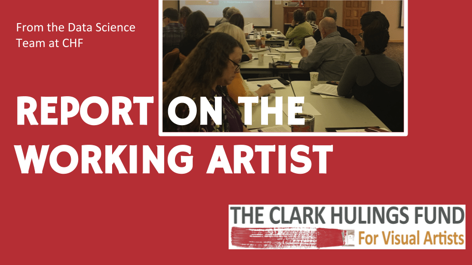 CHF Report on the Working Artist