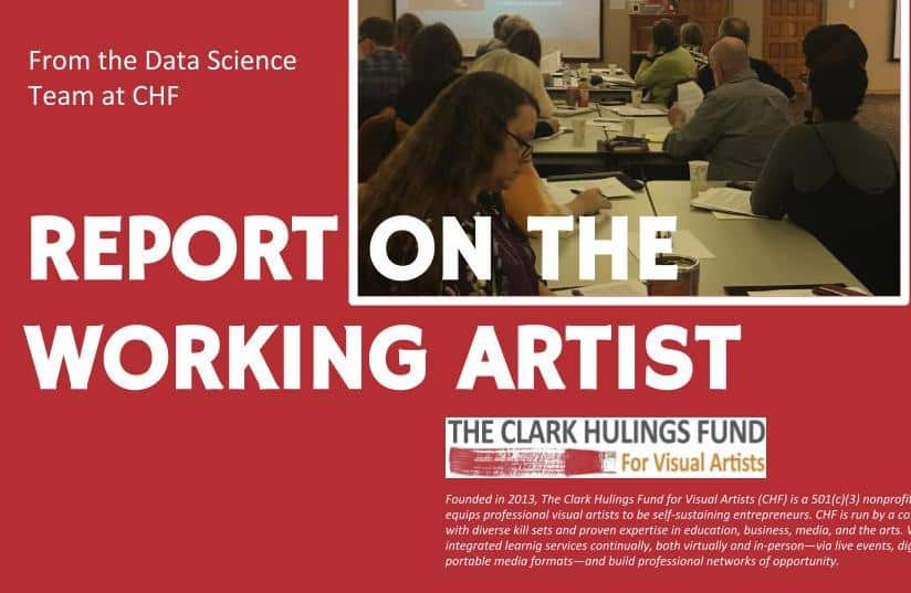 Report on the Working Artist