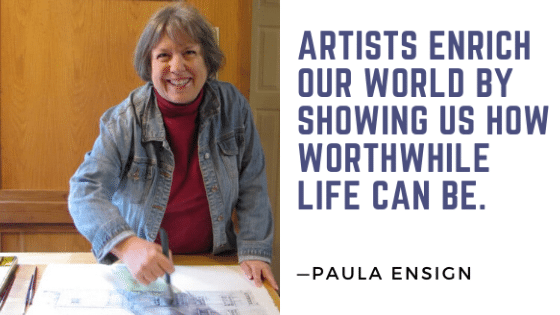 Remembering Paula Ensign