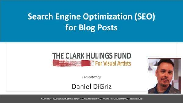 Search Engine Optimization (SEO) for Blog Posts