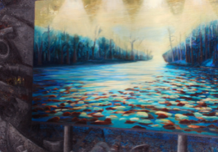 Billboard 7, The Swamp by Janet Culbertson