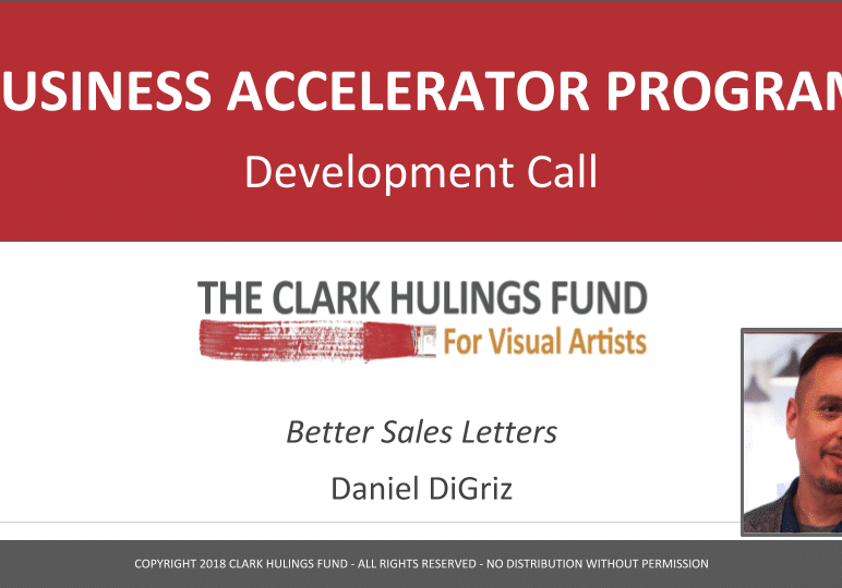 Writing Better Sales Letters Development Call