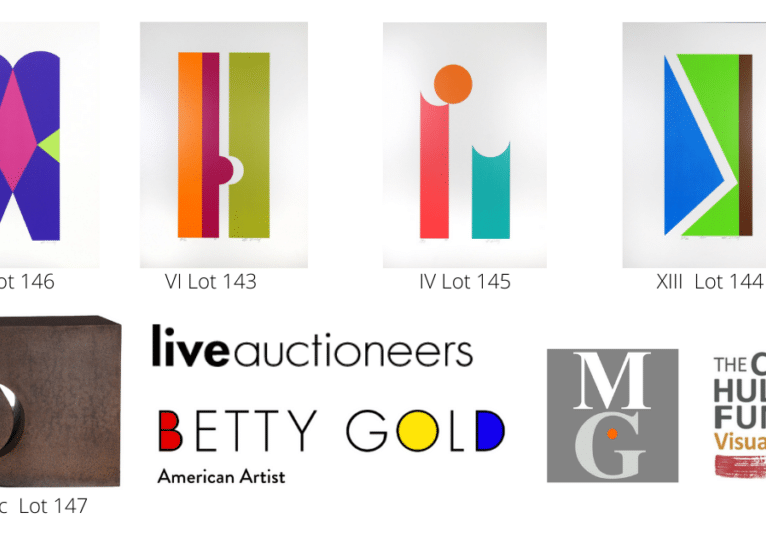 Betty Gold's work is auctioned to benefit CHF