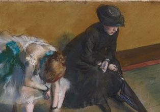 Waiting, by Edgar Degas