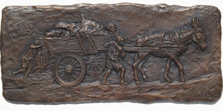 Original Art - Glenna Goodacre Bronze Bas Relief - Final Work