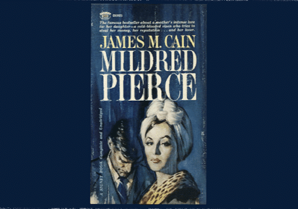 James M. Cain's Mildred Pierce. Cover by Clark Hulings