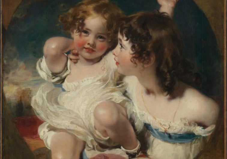 The Calmady Children by Sir Thomas Lawrence