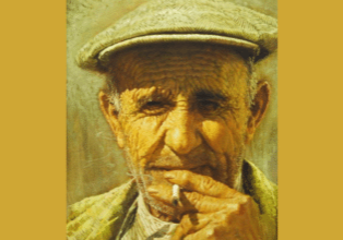 The Man From Spain - by Clark Hulings