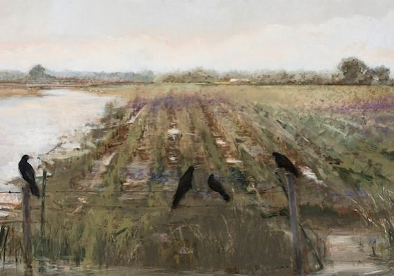 cafe flooded field - Donna Lee Nyzio