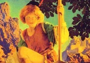 Jack and the Beanstalk, by Maxfield Parrish