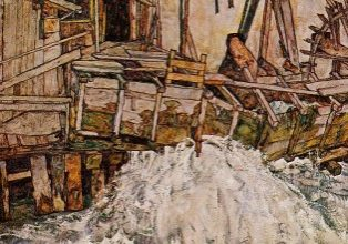 The Mill, Egon Schiele