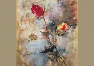 Watercolor Roses- Clark Hulings -featured image